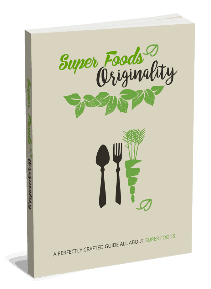 Super Foods Originality PLR eBook and Squeeze Page