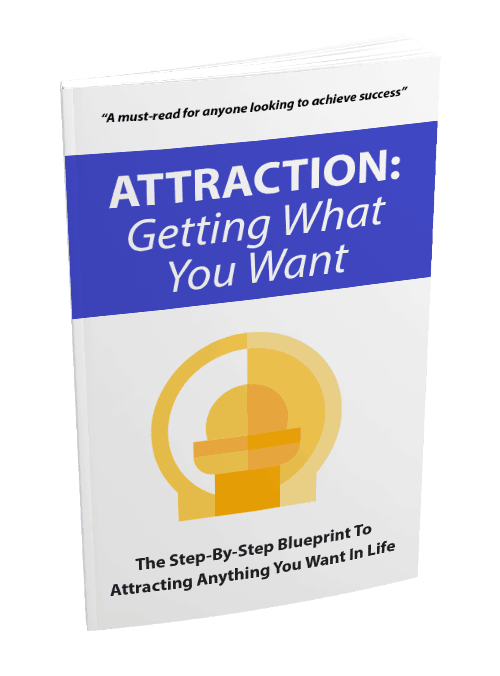 Attraction Get What Want eBook and Squeeze Page