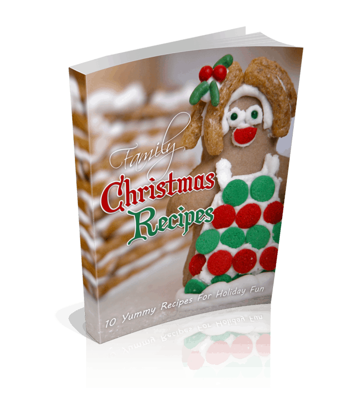 Family Christmas Recipes eBook and Articles with Resell Right