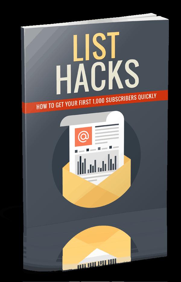 Quality List Hacks PLR List Building Report