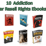 10 Addiction Master Resell Rights Ebooks Pack