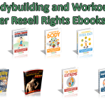 9 Bodybuilding and Workouts Master Resell Rights Ebooks Pack