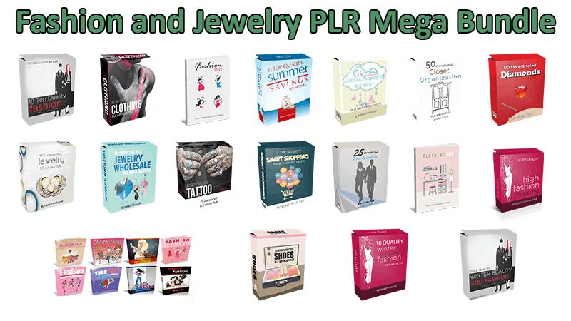 Fashion and Jewelry PLR Mega Bundle