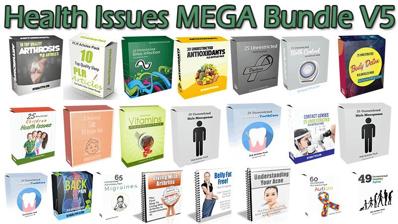 Health Issues MEGA Bundle V5