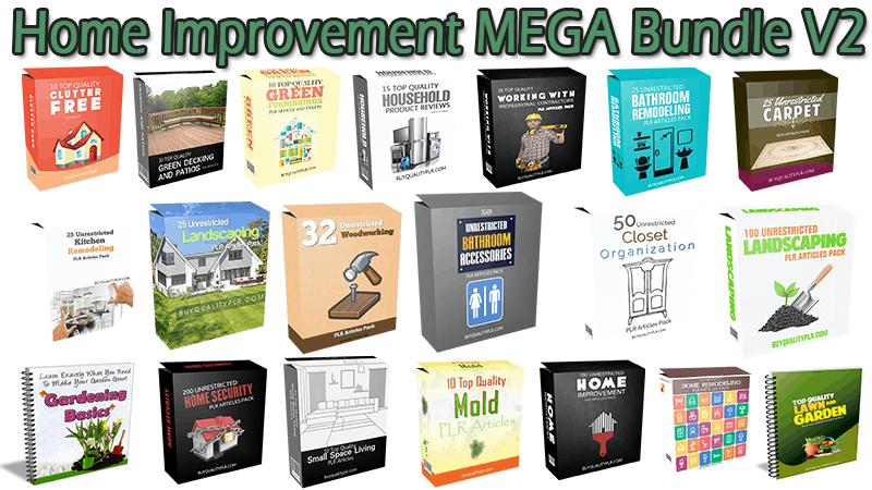 Home Improvement MEGA Bundle V2
