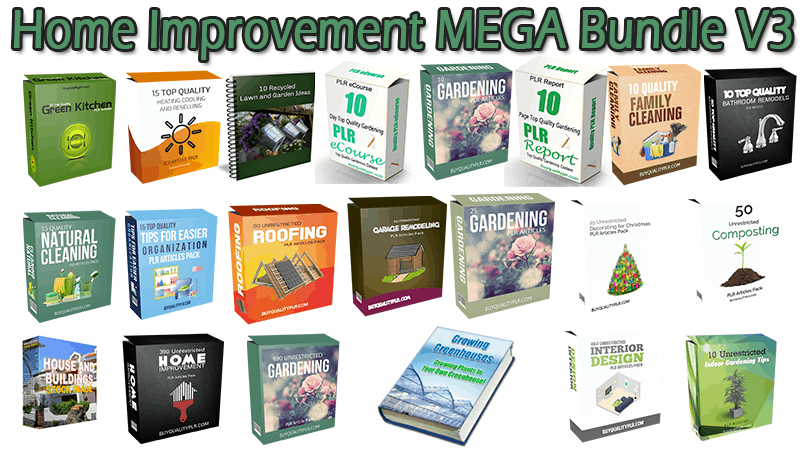 Home Improvement MEGA Bundle V3