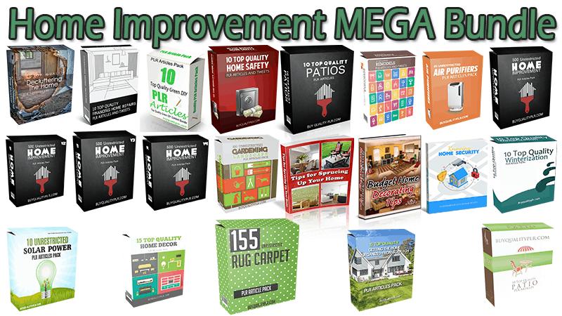 Home Improvement MEGA Bundle
