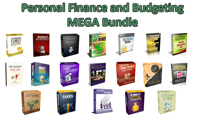 Personal Finance and Budgeting V1 Mega Bundle