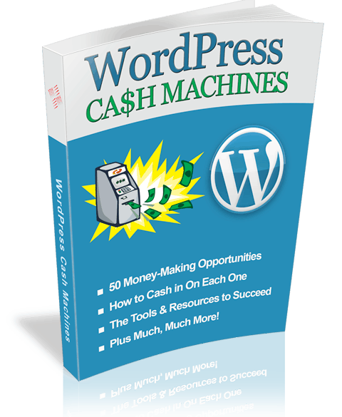 WP Cash Machines Master Resell Rights Ebook with Sales Page