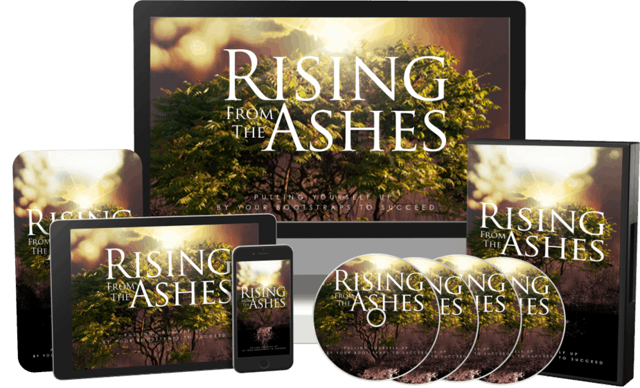Rising From The Ashes Sales Funnel with Master Resell Rights