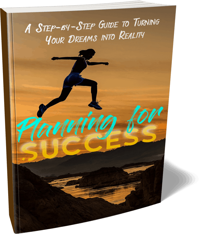 Planning for Success PLR Ebook