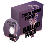 Ballad Stock Audio Tracks with Master Resell Rights