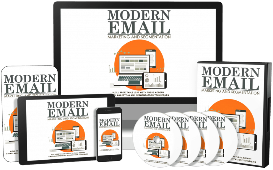 Modern Email Marketing and Segmentation Sales Funnel with Master Resell Rights