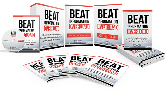 Beat Information Overload Sales Funnel with Master Resell Rights