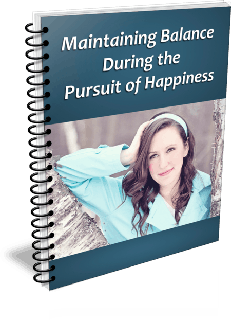 Top Quality Maintaining Balance In Pursuit of Happiness PLR Report