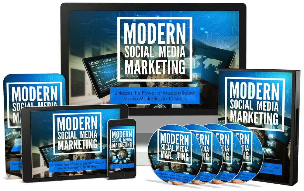 Modern Social Media Marketing Sales Funnel with Master Resell Rights