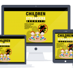 Children and Strangers Security Sales Funnel with Master Resell Rights