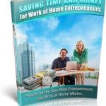 Saving Time Money PLR eBook
