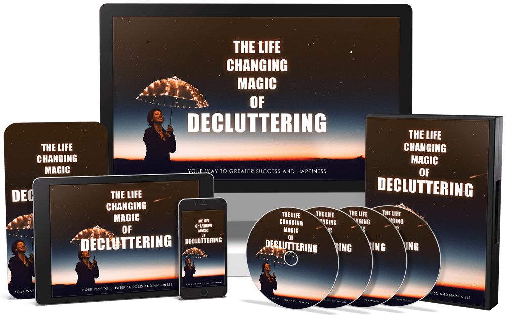 The Life Changing Magic of Decluttering MRR Sales Funnel