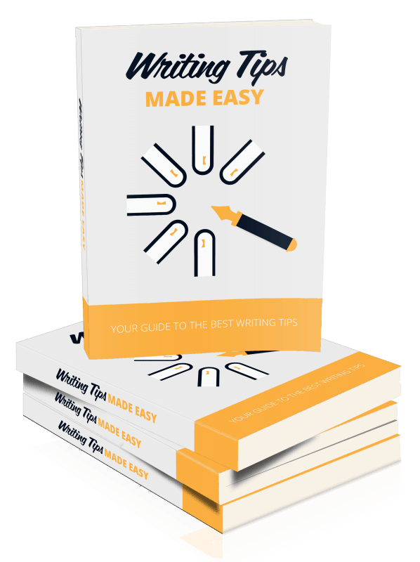 Writing Tips Made Easy Ebook and Squeeze Page