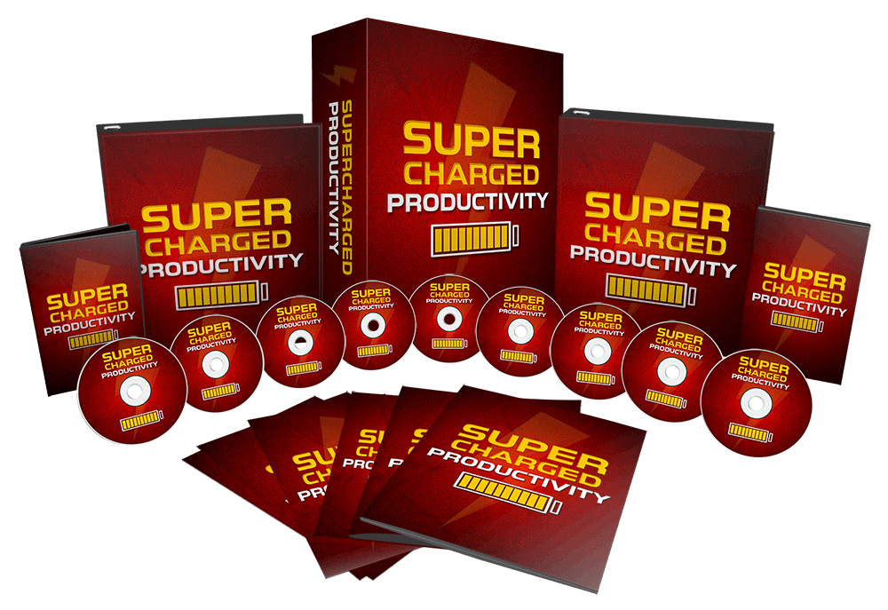 Supercharged Productivity MRR Sales Funnel