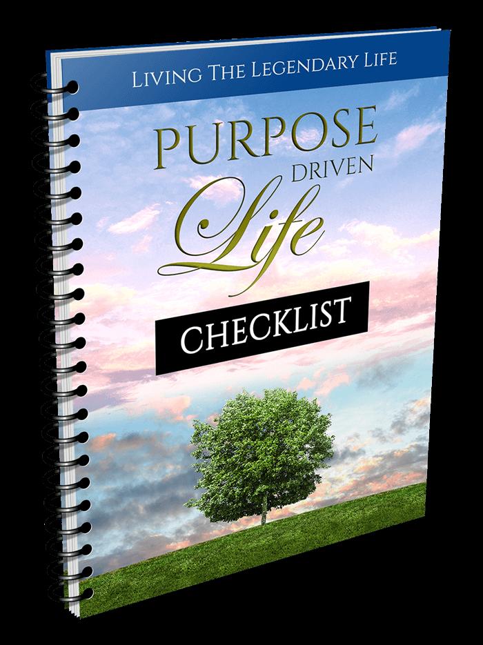 Purpose Driven Life Checklist