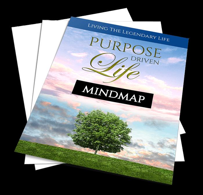 Purpose Driven Life Mindmap