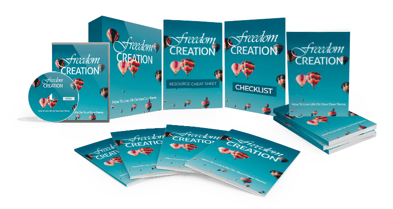 Freedom Creation Sales Funnel with Master Resell Rights