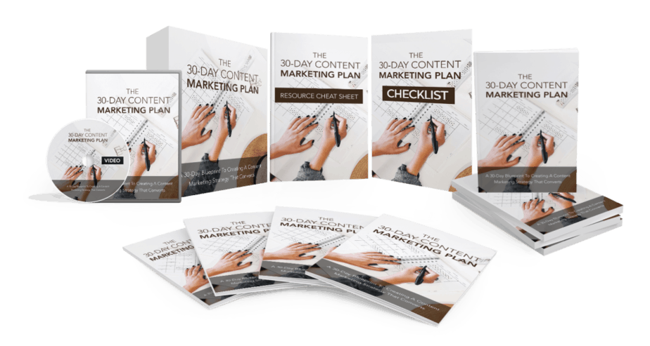 30 Day Content Marketing Plan MRR Sales Funnel