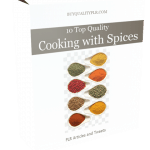 10 Top Quality Cooking with Spices PLR Articles and Tweets