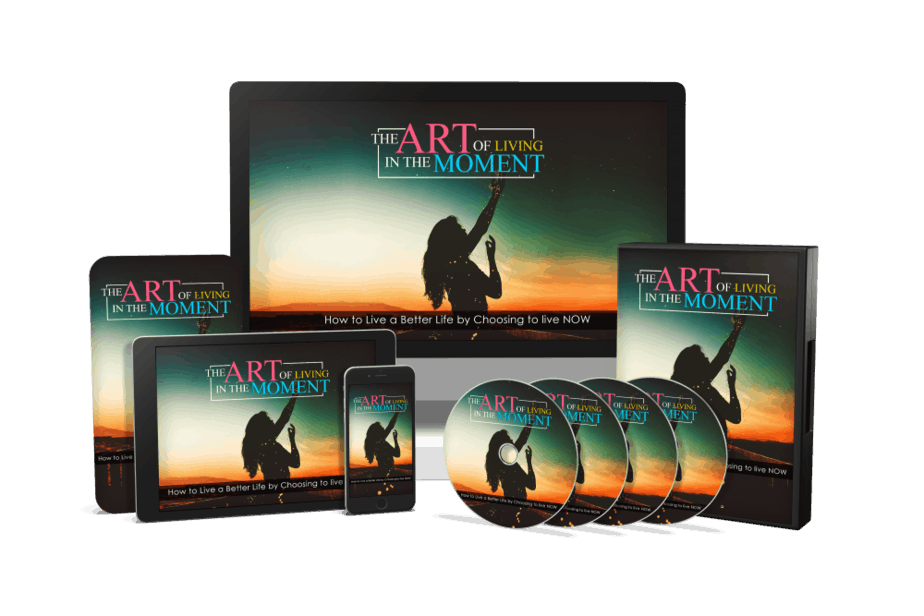 The Art of Living in the Moment Sales Funnel with Master Resell Rights