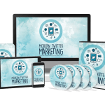 Modern Twitter Marketing Sales Funnel with Master Resell Rights