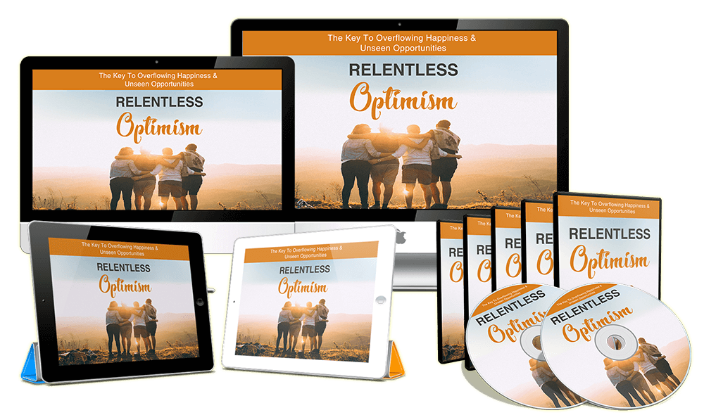 Relentless Optimism Sales Funnel with Master Resell Rights