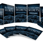 Blockchain Secrets Sales Funnel with Master Resell Rights