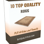 10 Top Quality Rugs PLR Articles and Tweets