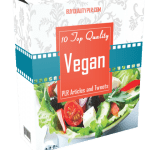 10 Top Quality Vegan PLR Articles and Tweets