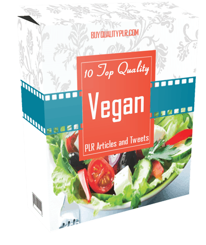 10 Top Quality Vegan PLR Articles and Tweets