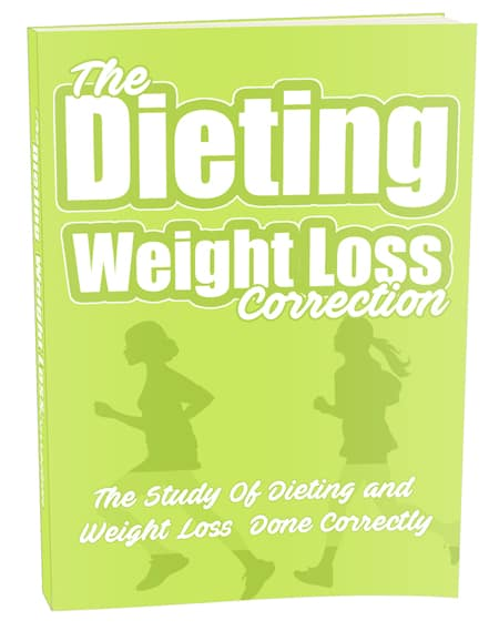 The Dieting Weight Loss Correction Ebook