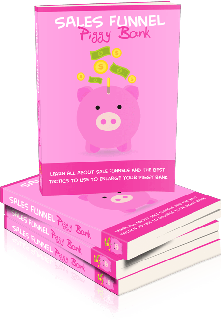 Sales Funnel Piggy Bank Master Resell Rights eBook
