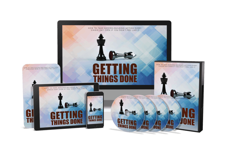 Getting Things Done Sales Funnel with Master Resell Rights