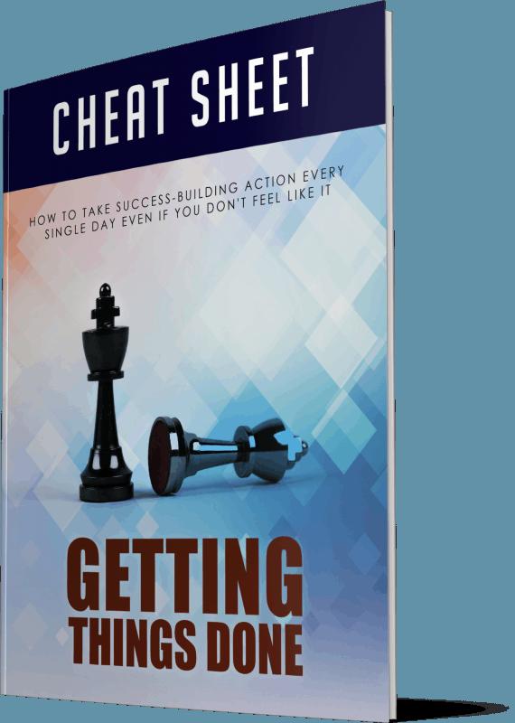 Getting Things Done Cheatsheet