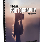 10-Day Photography PLR ECourse