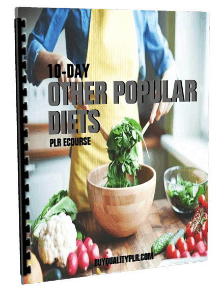 10-Day Other Popular Diets PLR ECourse