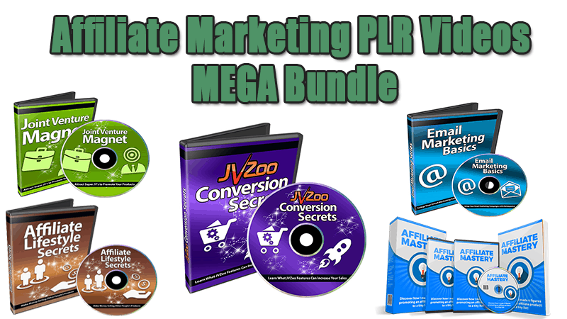 Affiliate Marketing PLR Videos MEGA Bundle
