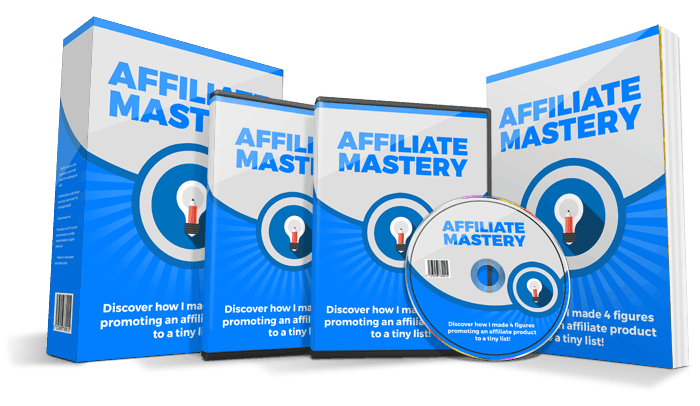 Affiliate Mastery PLR Video Course
