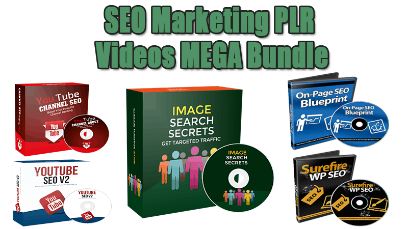 SEO Marketing PLR Videos MEGA Bundle