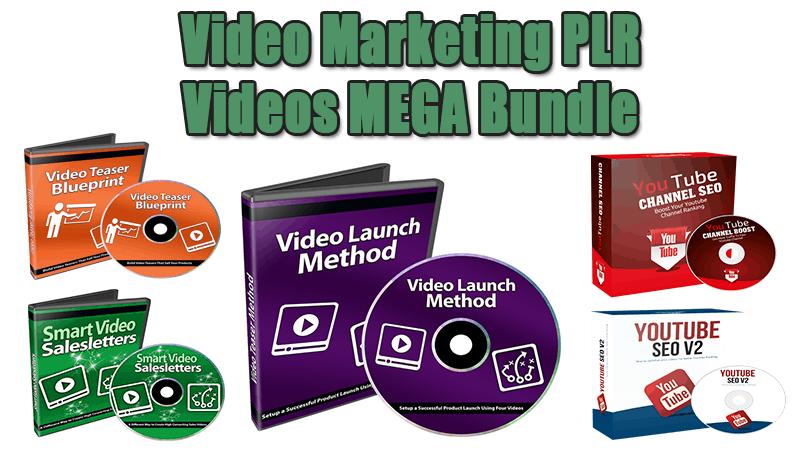Video Marketing PLR Videos MEGA Bundle