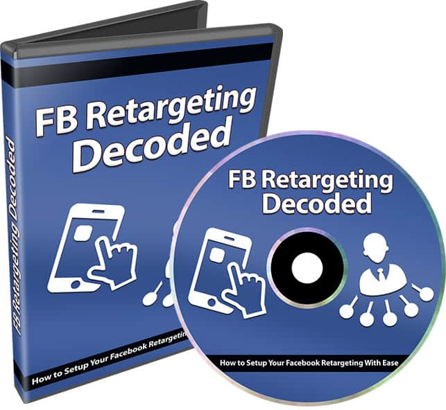 Facebook Retargeting Decoded PLR Video Series