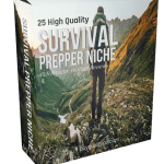 25 High Quality Survival Prepper Niche PLR Amazon Product Reviews