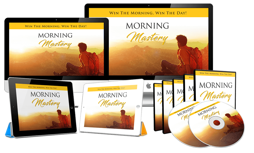 Morning Mastery Sales Funnel with Master Resell Rights
